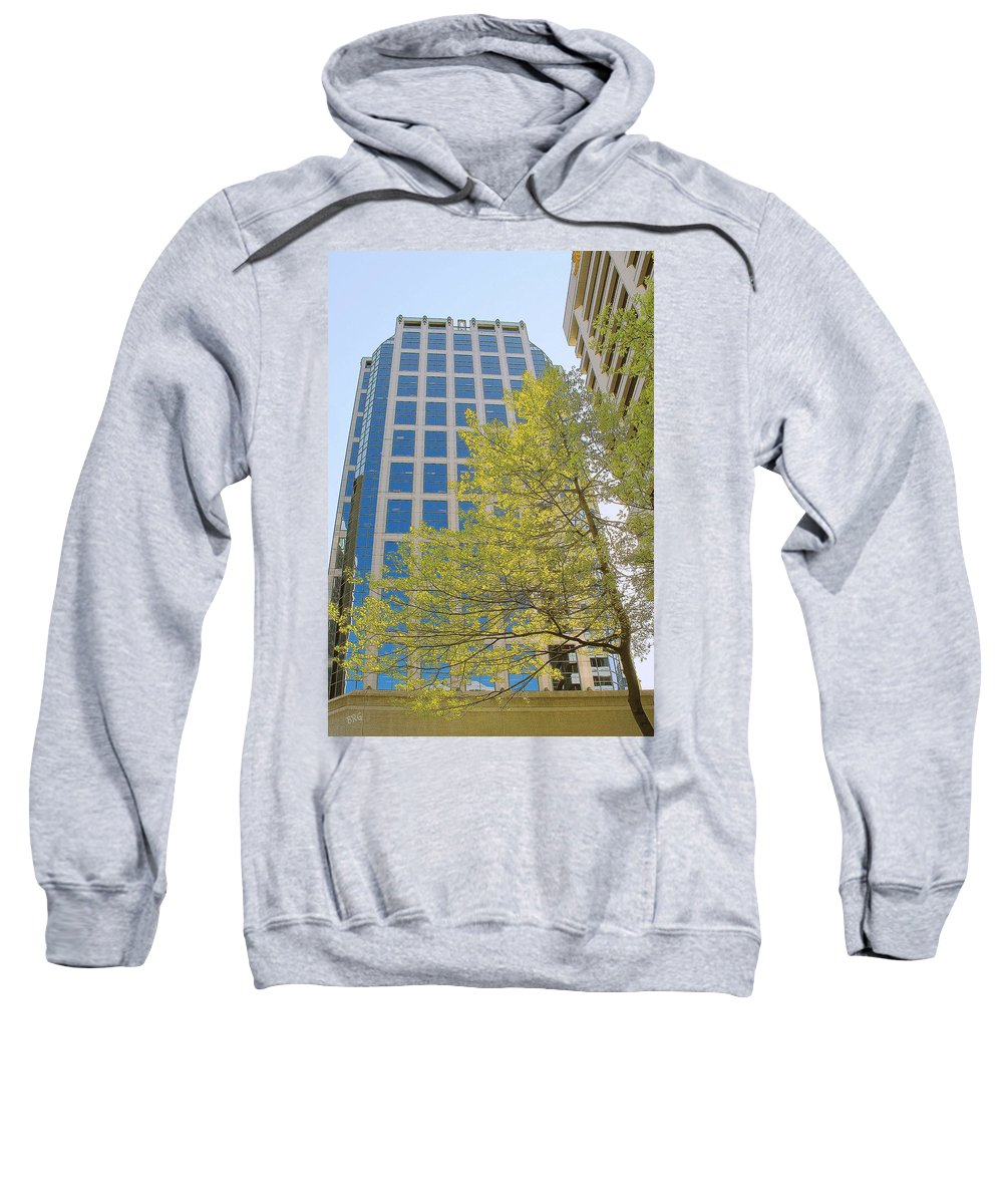 Architecture Sweatshirt featuring the photograph Vancouver Silhouettes No 1 by Ben and Raisa Gertsberg