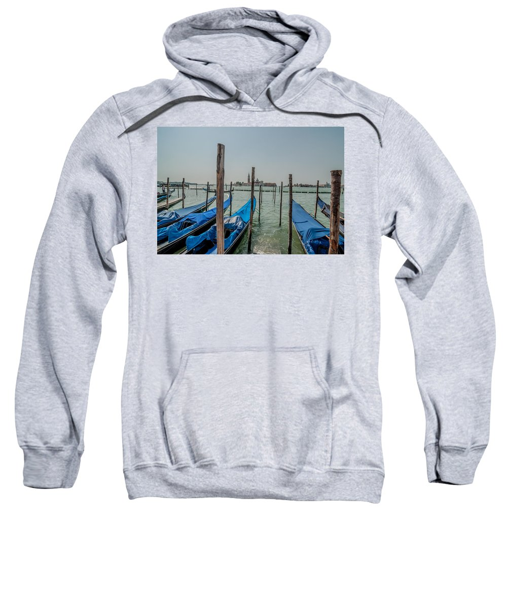 Architecture Sweatshirt featuring the photograph Venice by Amel Dizdarevic
