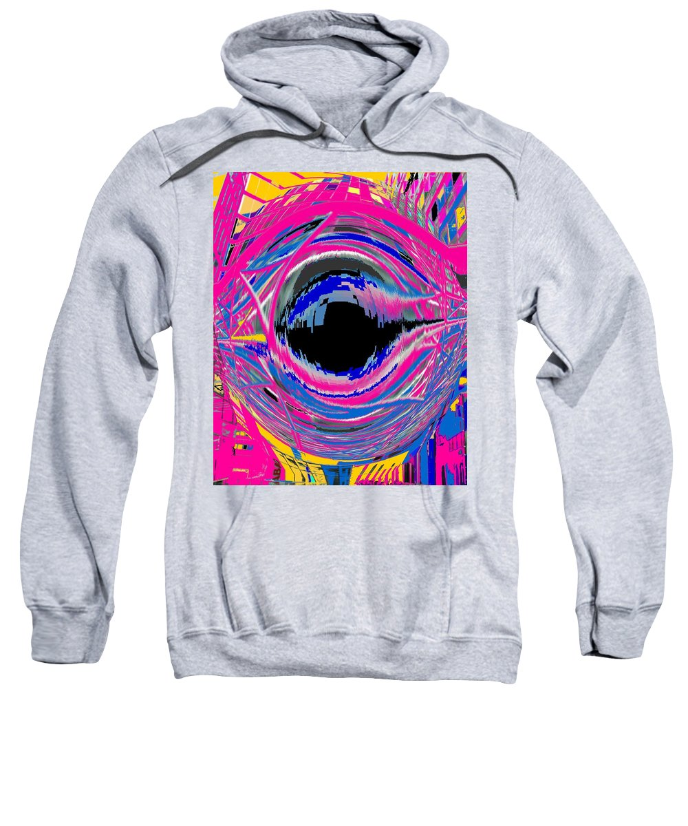 Abstract Sweatshirt featuring the photograph Vienna Modern by Ian MacDonald