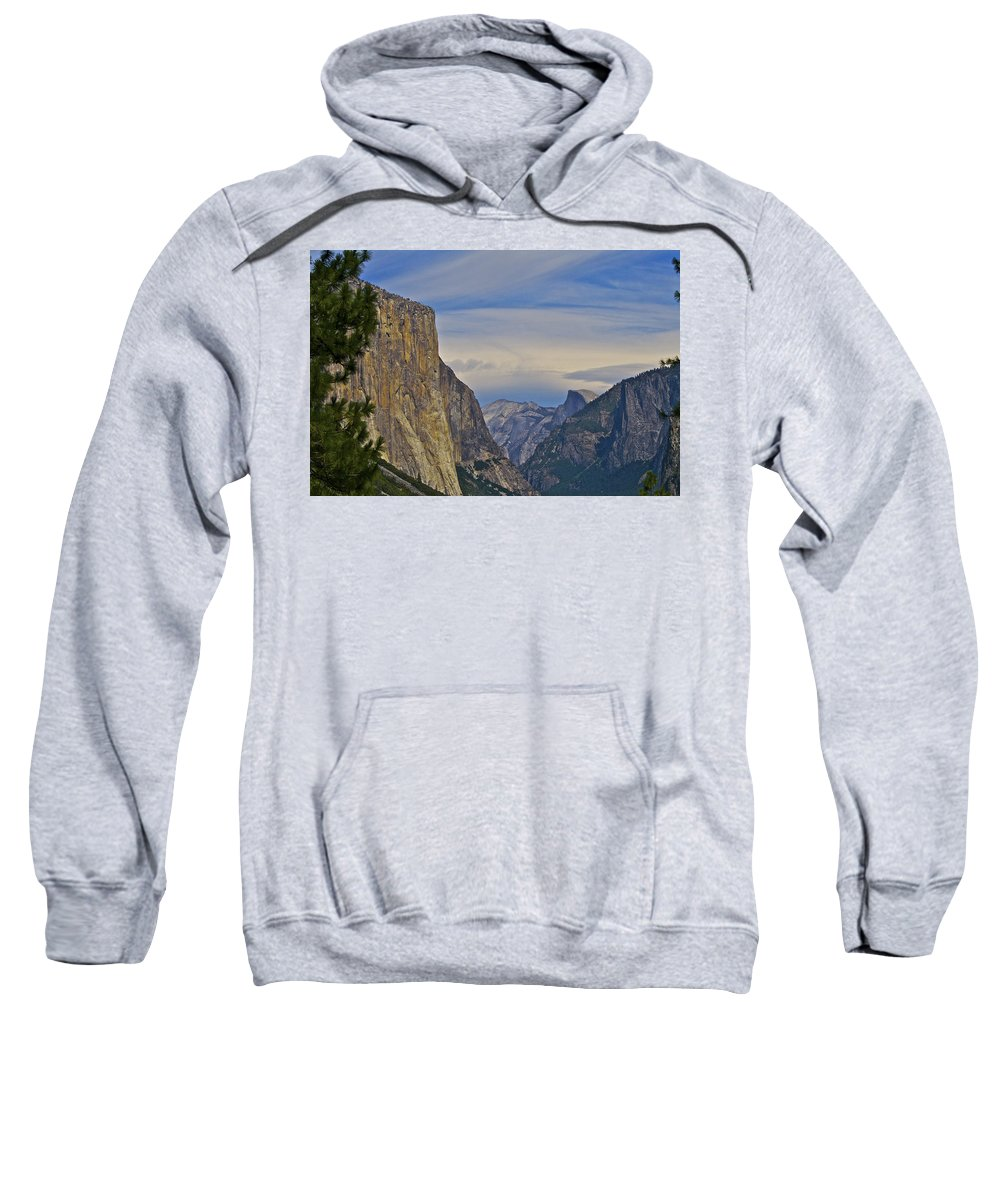 Yosemite Sweatshirt featuring the photograph View From Wawona Tunnel by SC Heffner