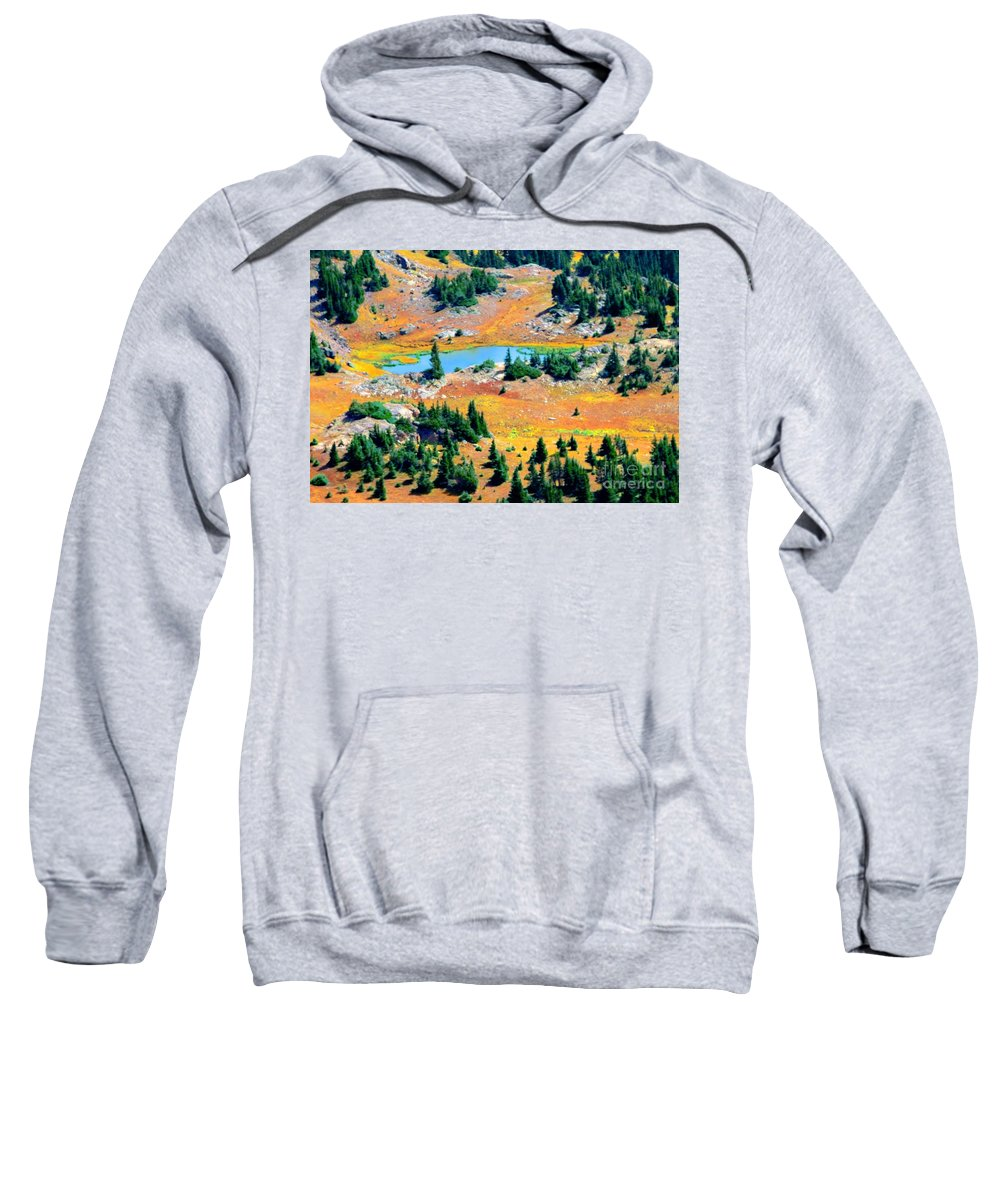 Lake Sweatshirt featuring the photograph View Of Lake by Kathleen Struckle