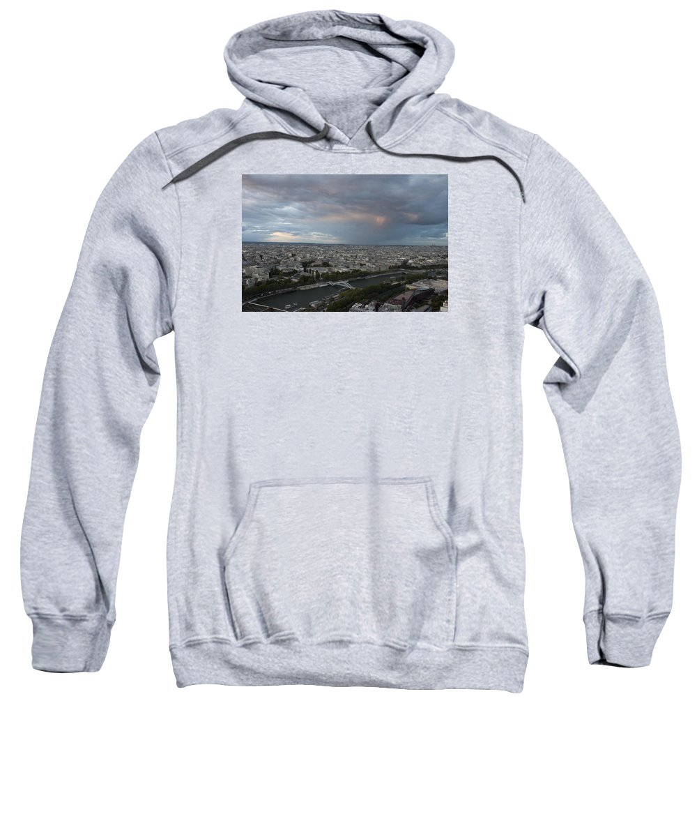 View Of Paris Sweatshirt featuring the photograph View Of Paris by Ivete Basso Photography