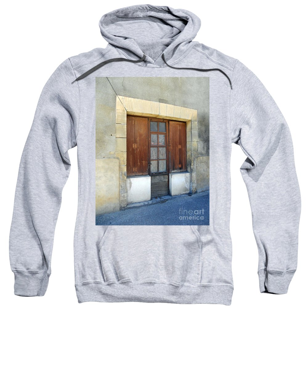 Still Life Sweatshirt featuring the photograph Village Square by Lauren Leigh Hunter Fine Art Photography