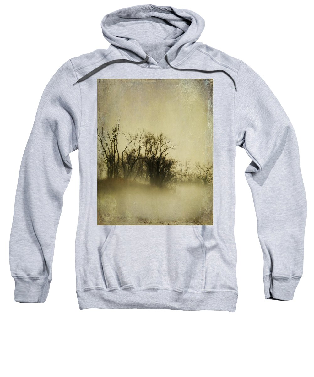 Foggy Image Sweatshirt featuring the photograph Vintage Fog by Gothicrow Images