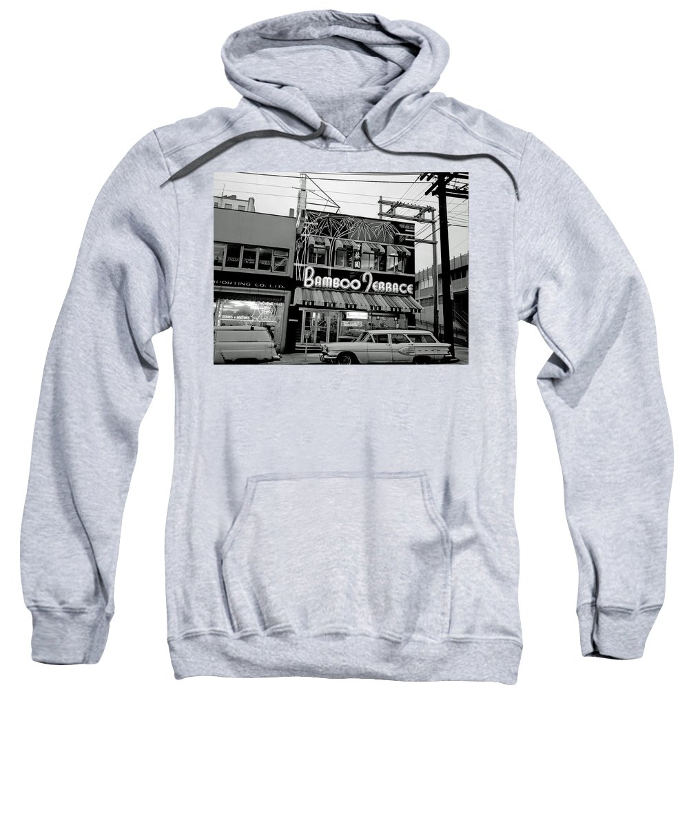 Vancouver Sweatshirt featuring the photograph Vintage Vancouver 1961 by Mountain Dreams
