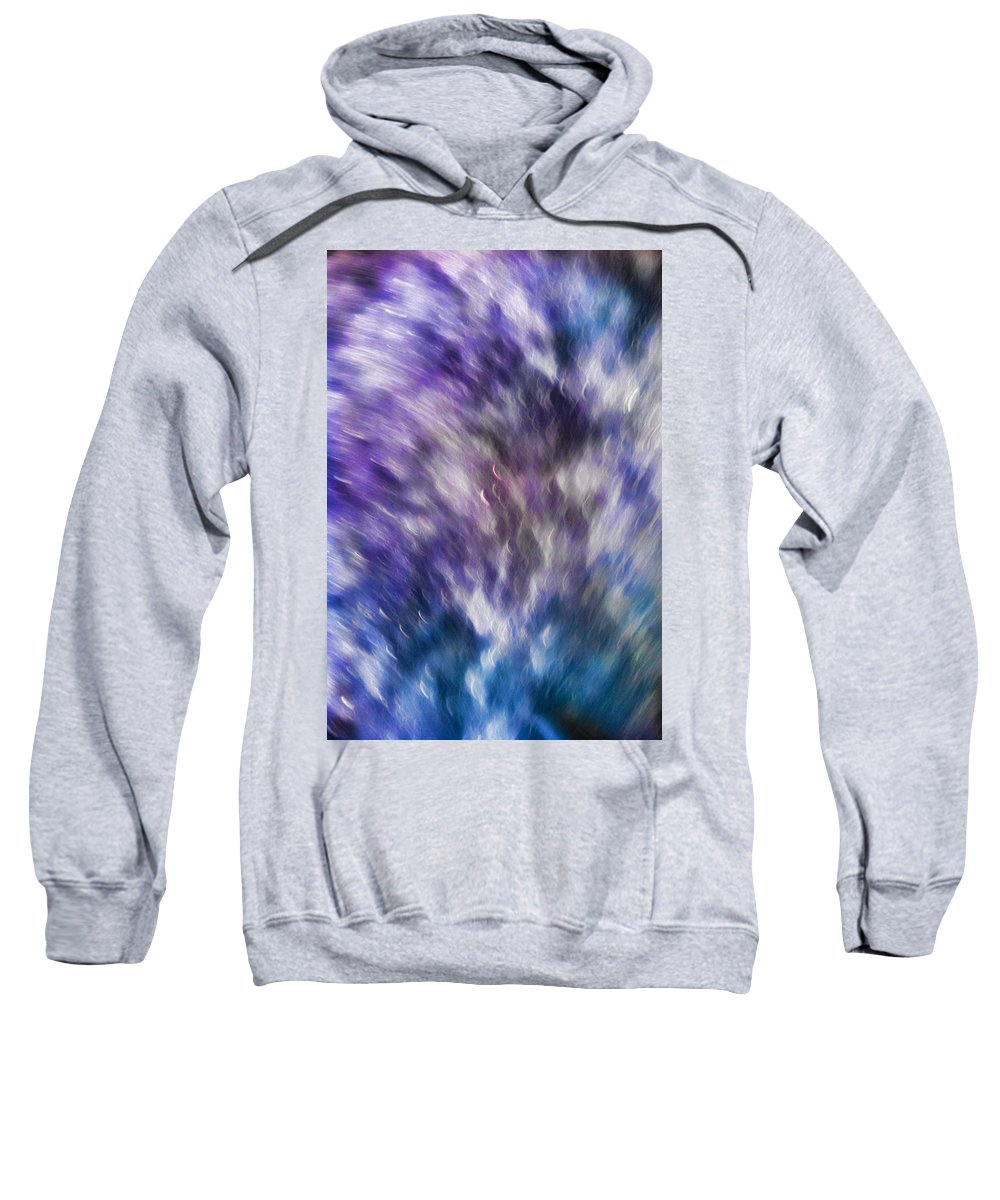 Violet Sweatshirt featuring the photograph Violet Breeze by Dennis Reagan