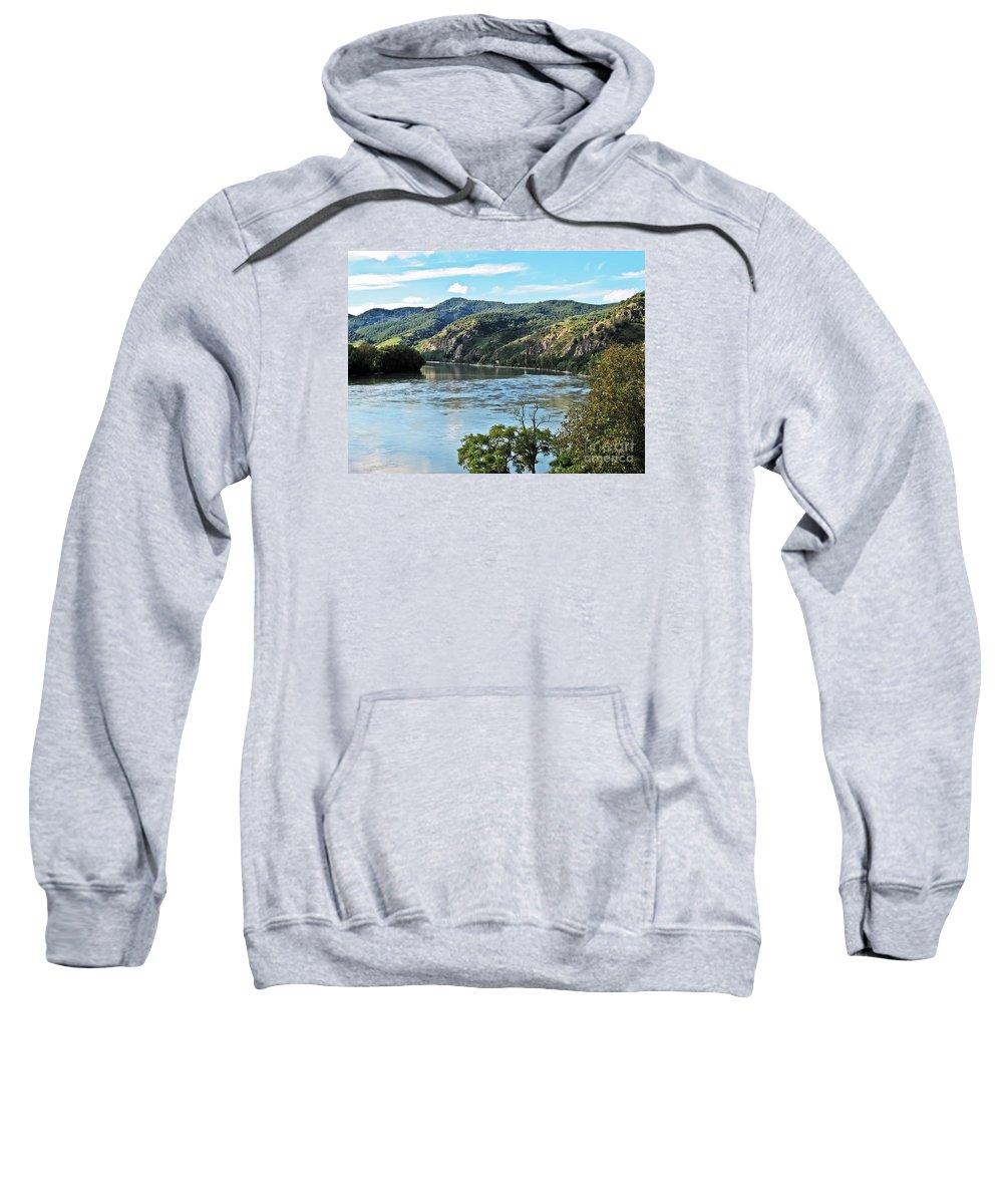 Travel Sweatshirt featuring the photograph Wachau Valley by Elvis Vaughn