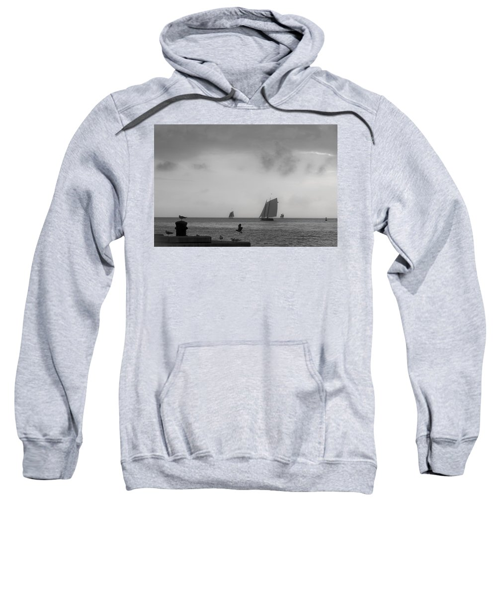 Key Sweatshirt featuring the photograph Wait For Me by Scott Meyer