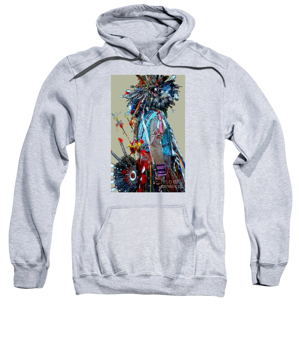Indians Sweatshirt featuring the photograph Waiting To Dance by Linda Parker