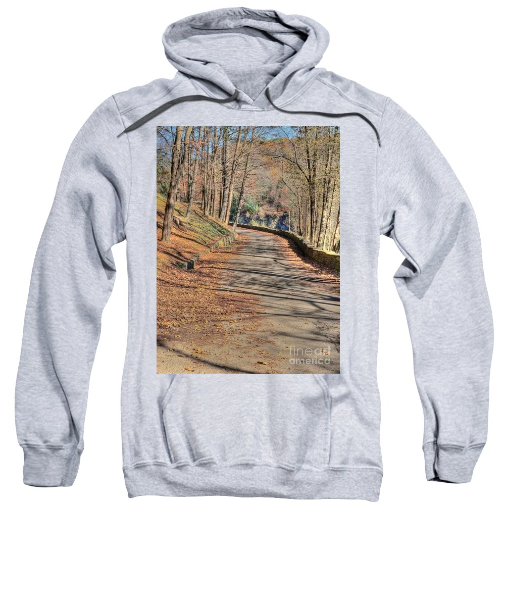 Walk Sweatshirt featuring the photograph Walk In The Park by Kathleen Struckle