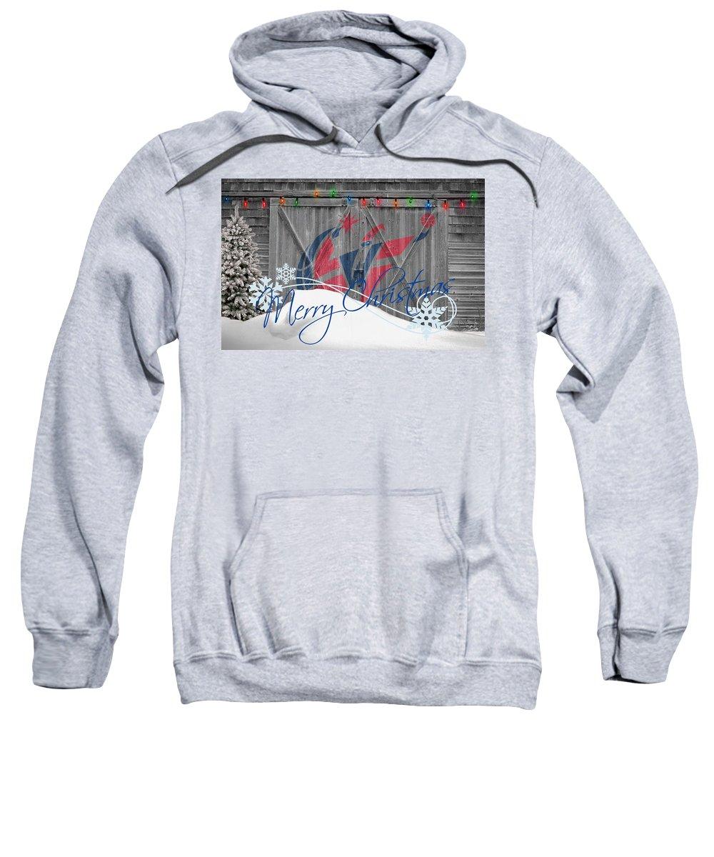Wizards Sweatshirt featuring the photograph Washington Wizards by Joe Hamilton