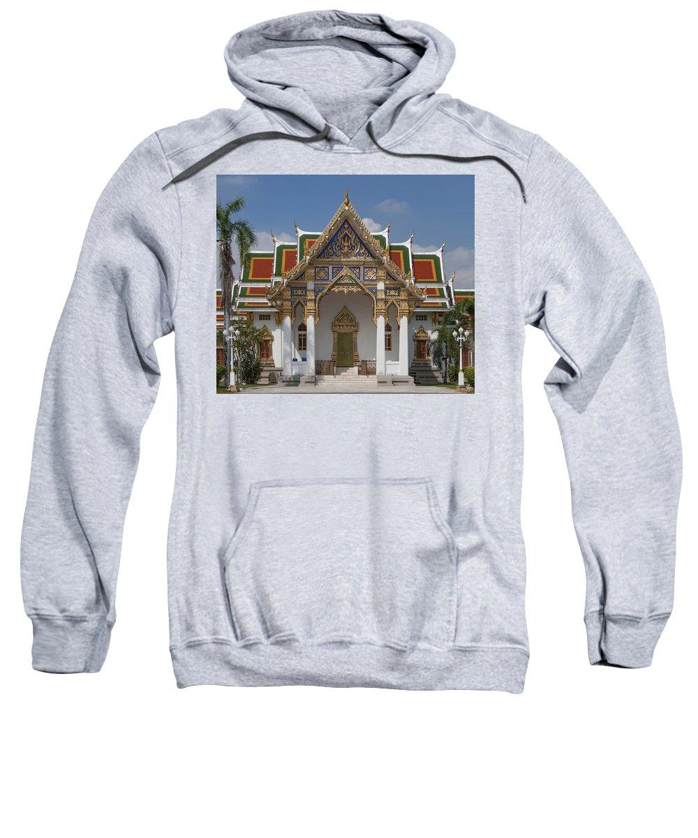Bangkok Sweatshirt featuring the photograph Wat Phrasri Mahathat Ubosot Dthb1464 by Gerry Gantt