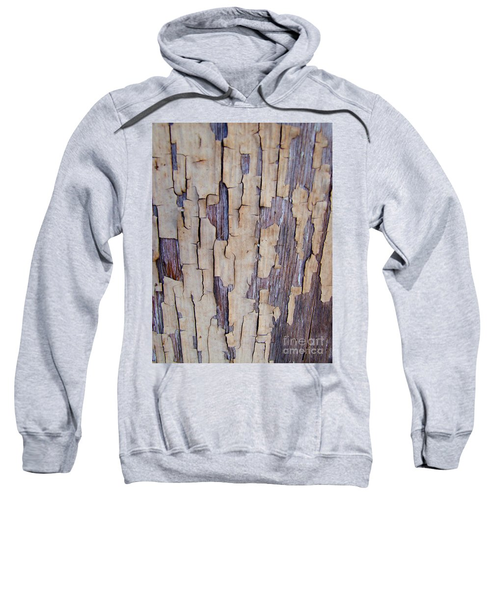 Brown Sweatshirt featuring the photograph Weathered by Mary Deal