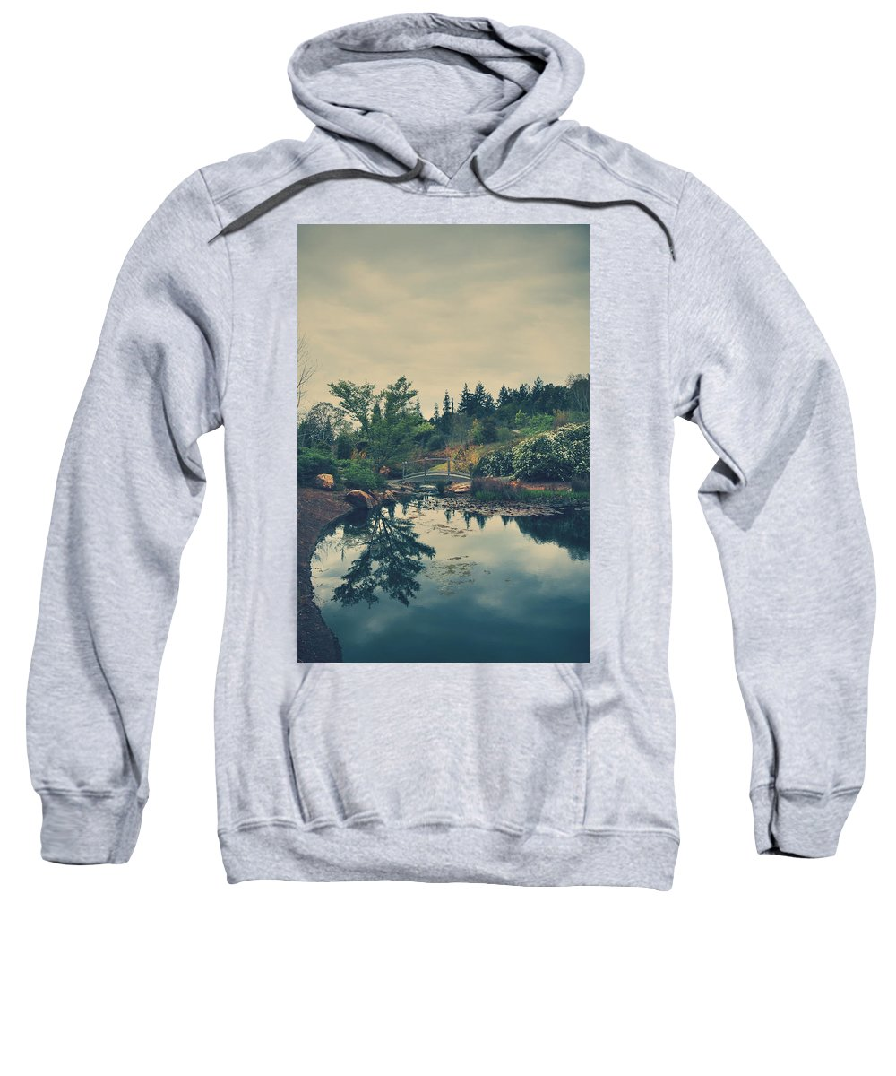 Quarryhill Botanical Garden Sweatshirt featuring the photograph When It's Sweet by Laurie Search