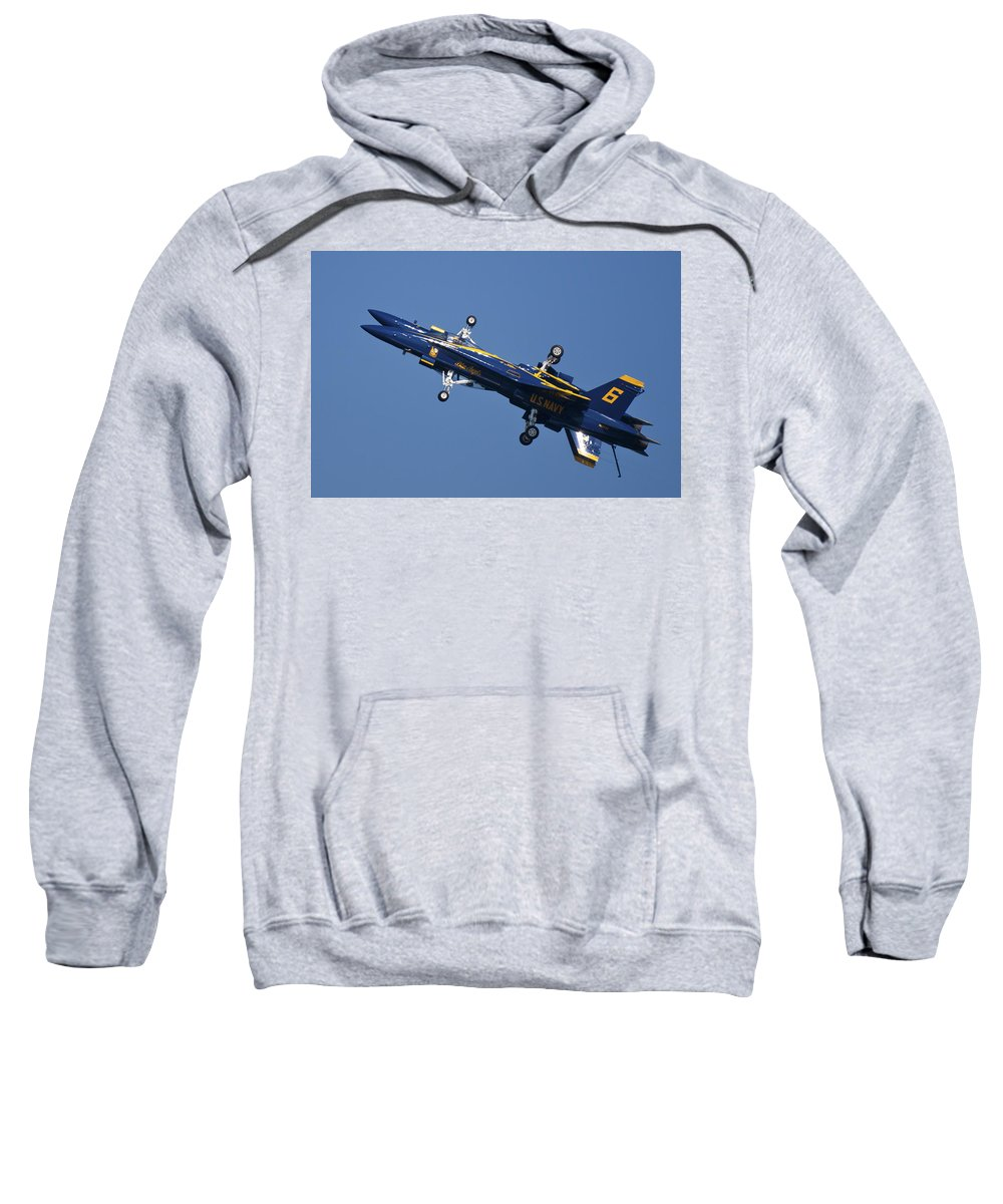3scape Photos Sweatshirt featuring the photograph Which Way Is Up by Adam Romanowicz