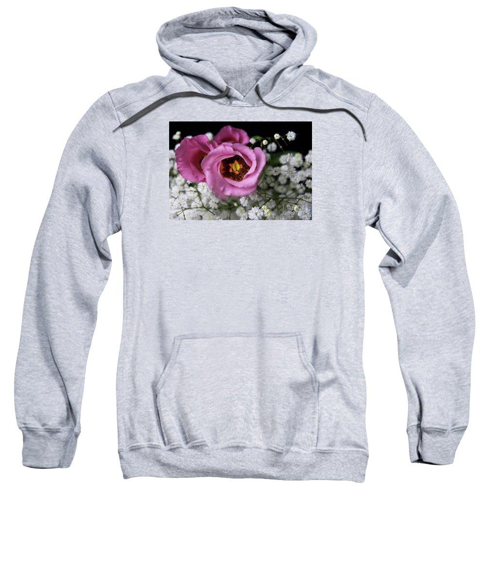 Festblues Sweatshirt featuring the photograph Whisper Of Love.. by Nina Stavlund
