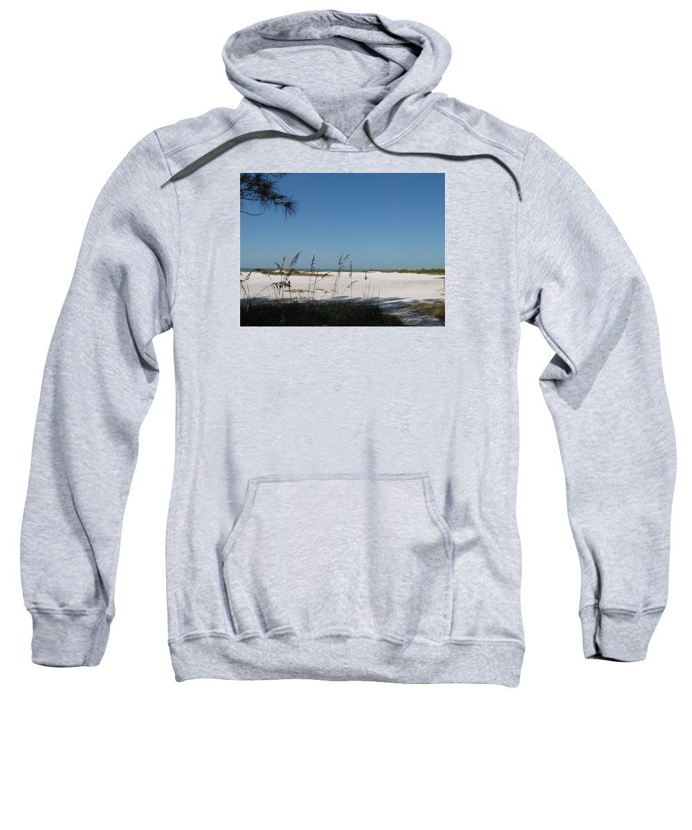 Beach Sweatshirt featuring the photograph Whitesand Beach by Christiane Schulze Art And Photography