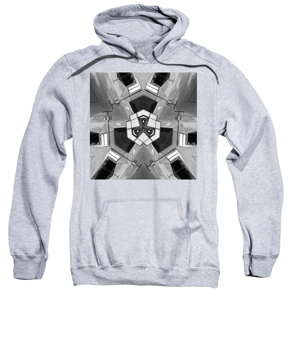Wichita Sweatshirt featuring the photograph Wichita Lineman by Dominic Piperata