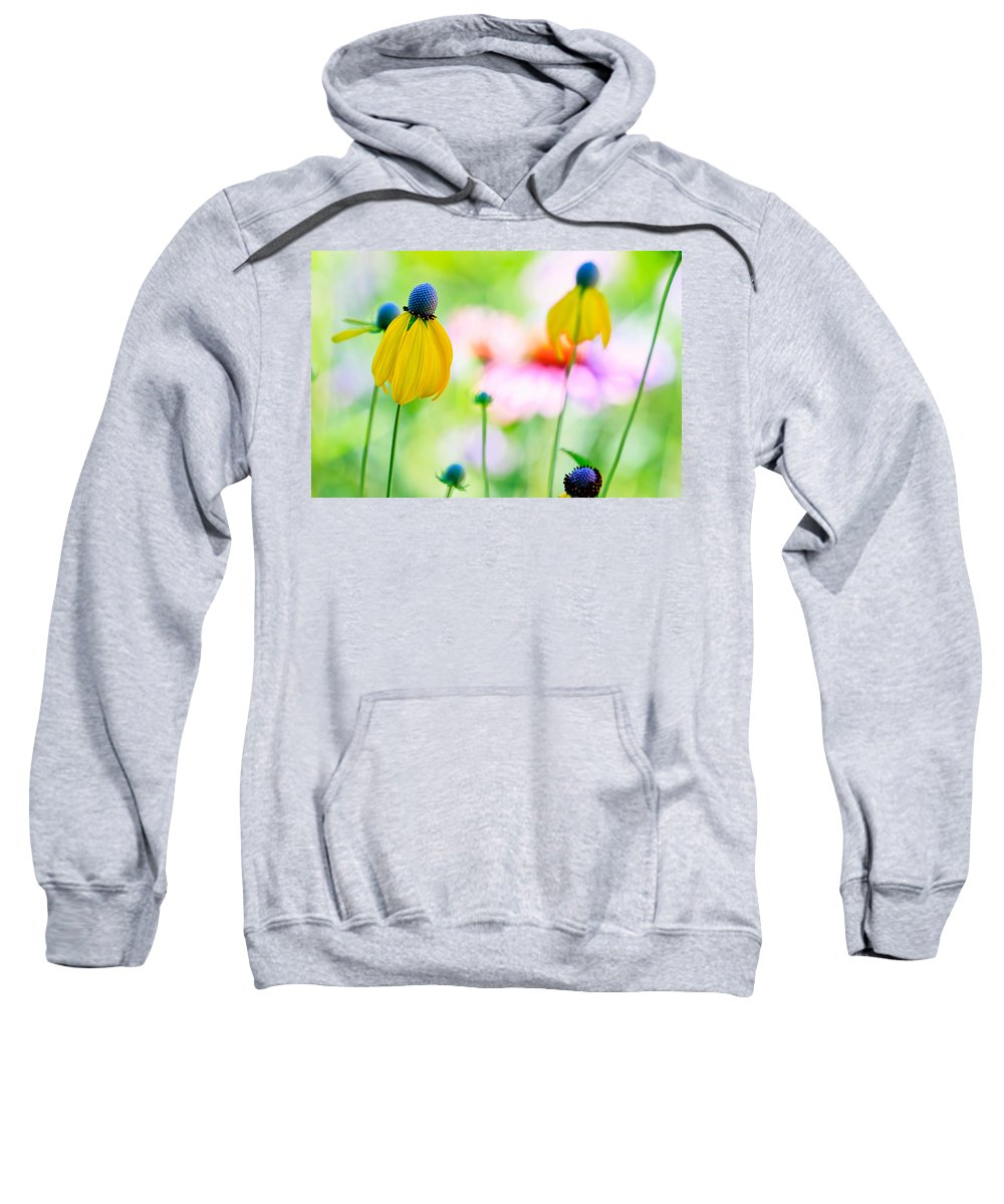 Flowers Sweatshirt featuring the photograph Wildflowers by Ben Graham