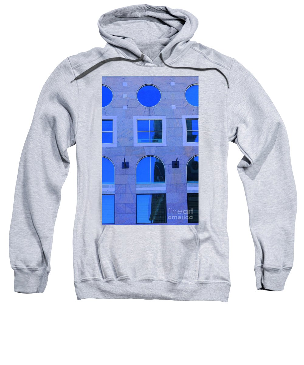 Window Sweatshirt featuring the photograph Window Shapes by Kathleen Struckle