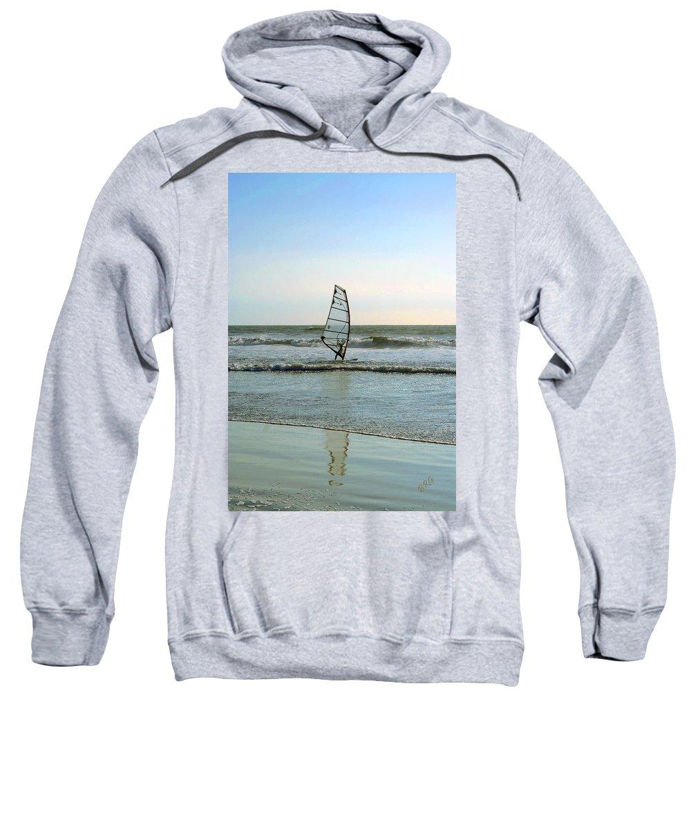 Windsurfer Sweatshirt featuring the photograph Windsurfing by Ben and Raisa Gertsberg