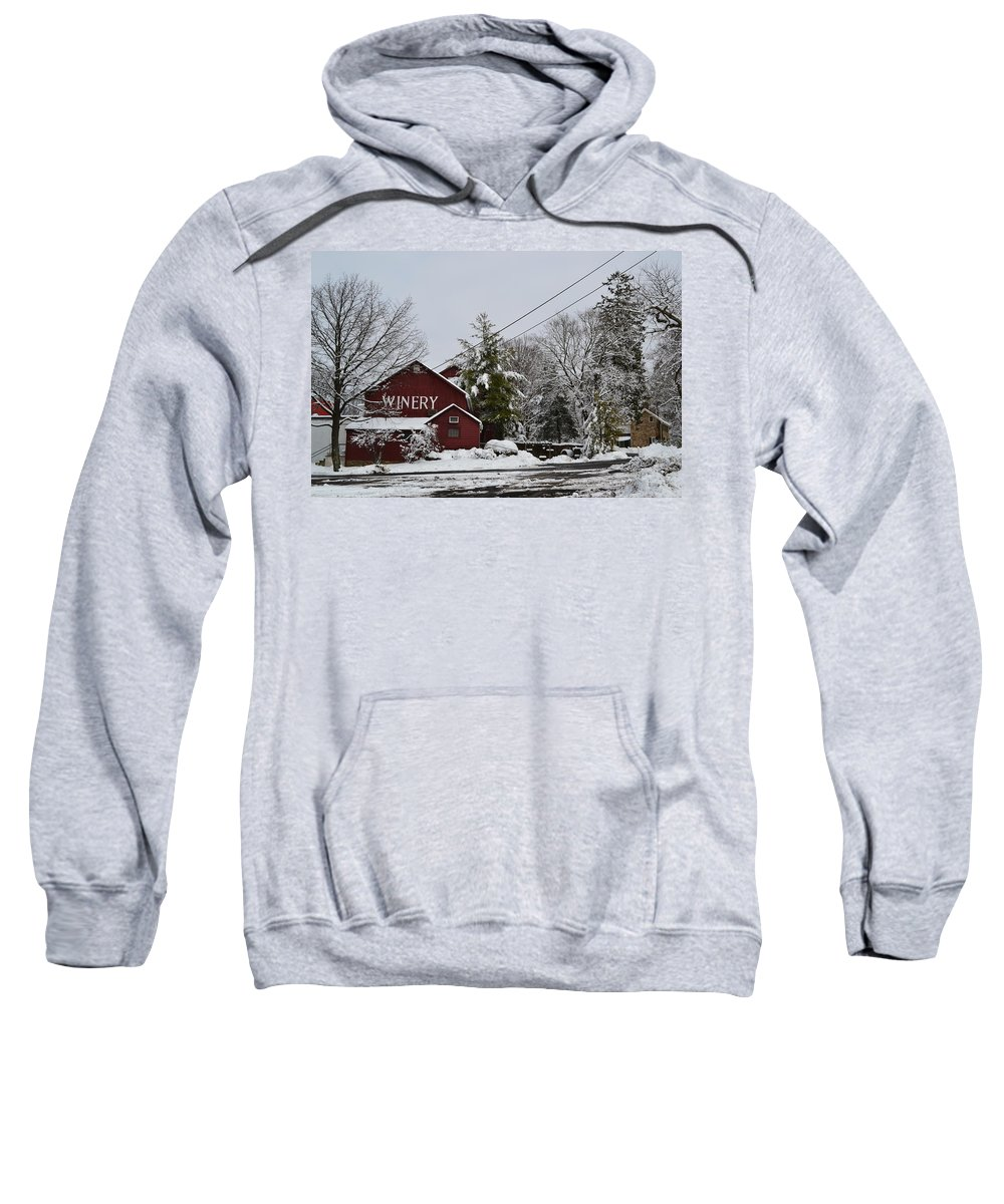 Winery Sweatshirt featuring the photograph Winery by Michael Brooks