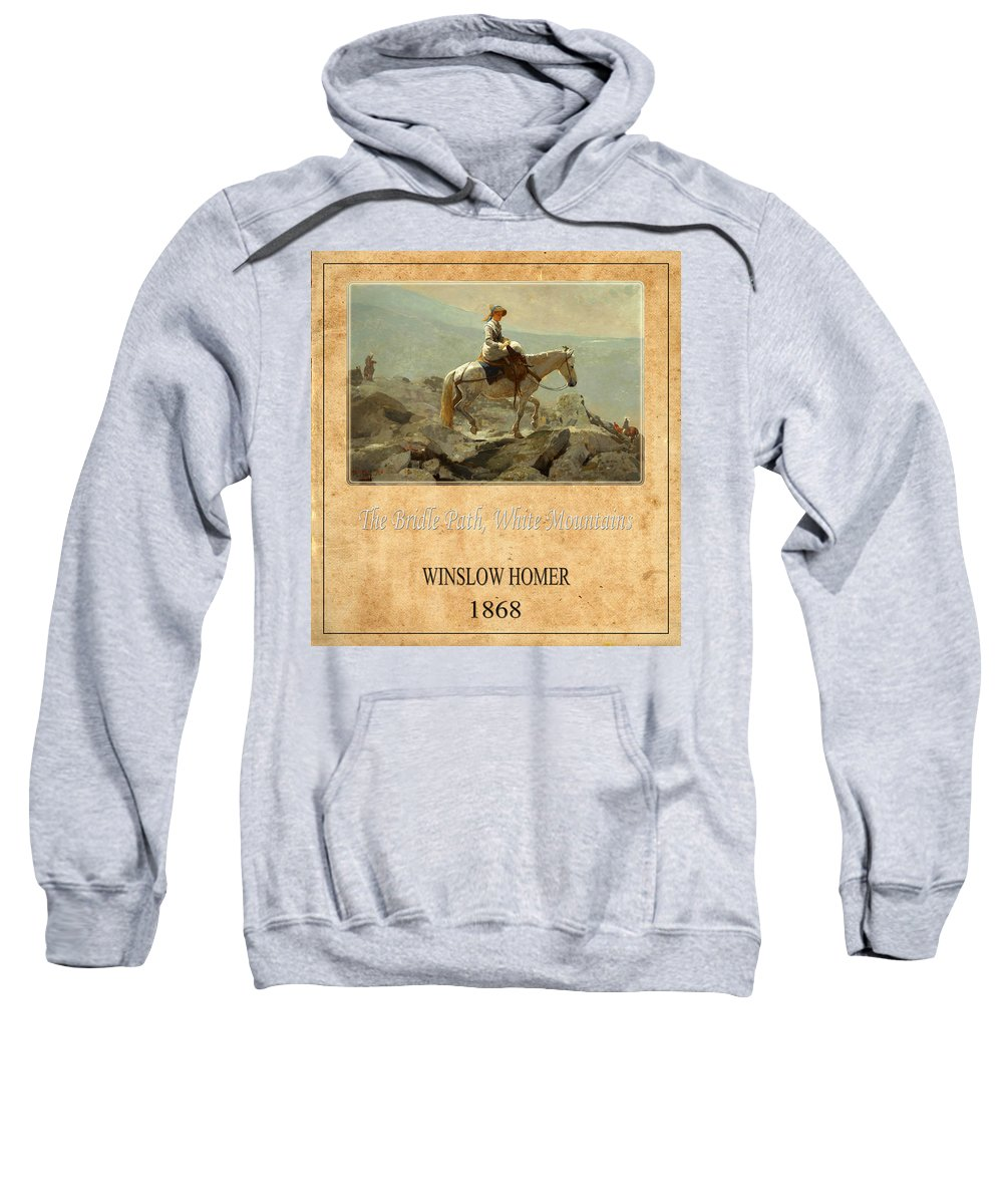 Homer Sweatshirt featuring the photograph Winslow Homer 5 by Andrew Fare