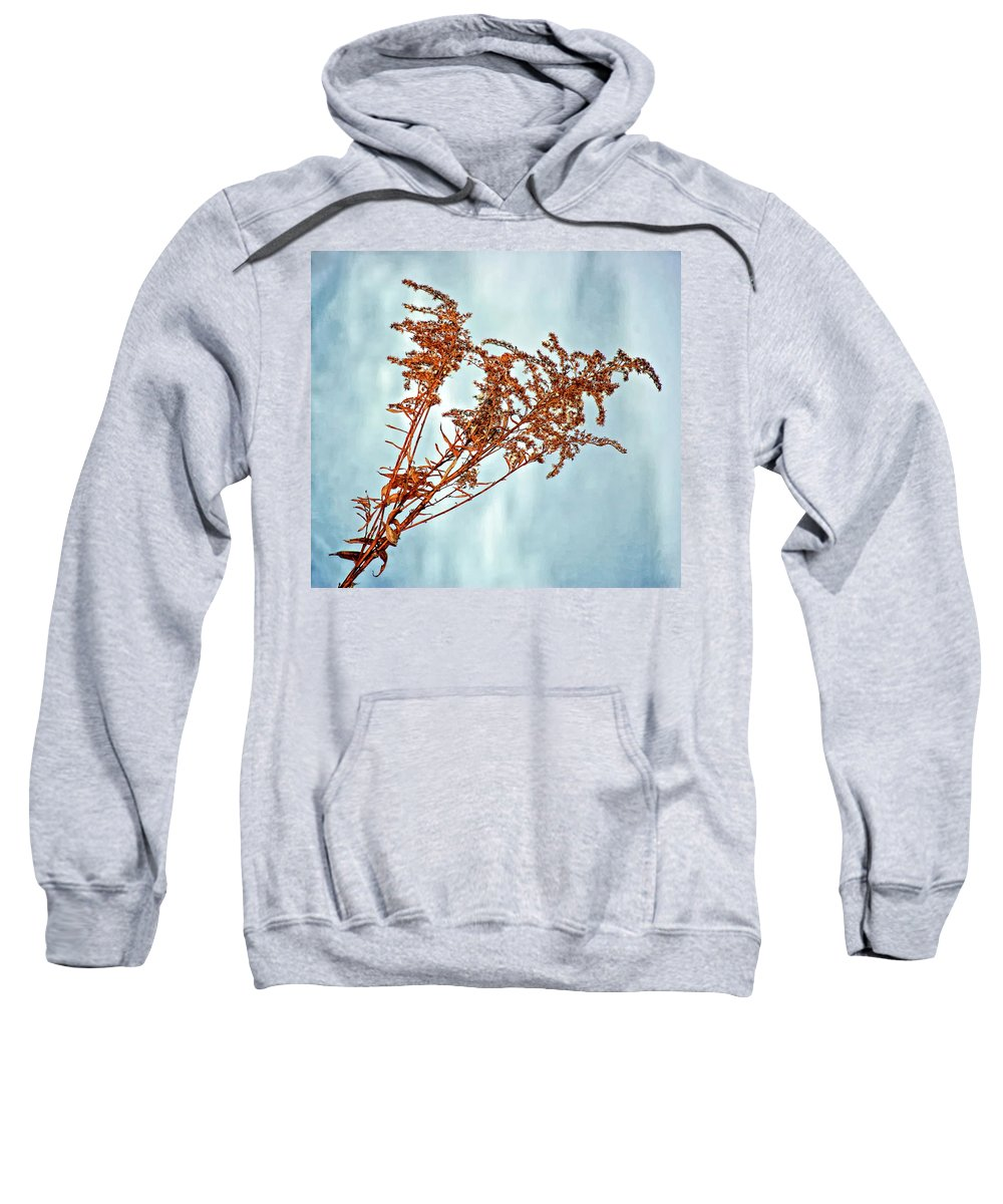 Weed Sweatshirt featuring the photograph Winter Bouquet by Steve Harrington