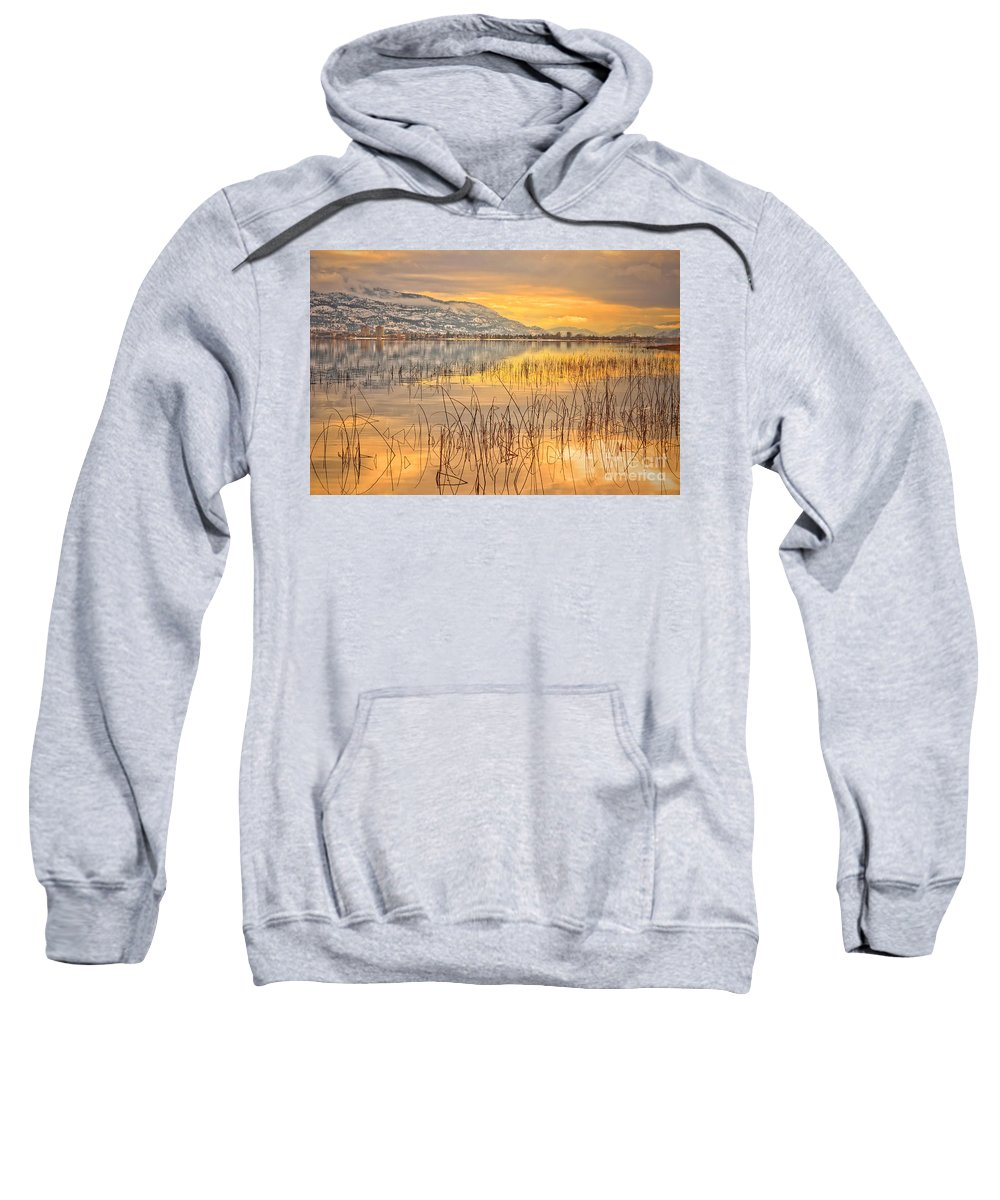 Okanagan Sweatshirt featuring the photograph Winter Solstice 5 by Tara Turner