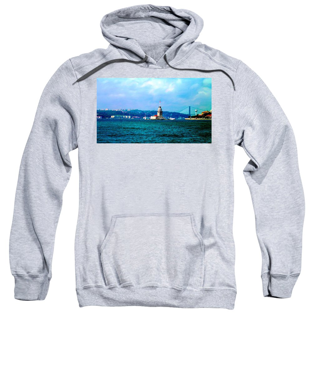 Istanbul Sweatshirt featuring the photograph Wonders Of Istanbul by Zafer Gurel