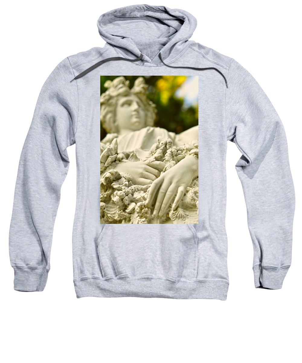 Landscape Sweatshirt featuring the photograph Yaddo Season 2 by Tina Baxter