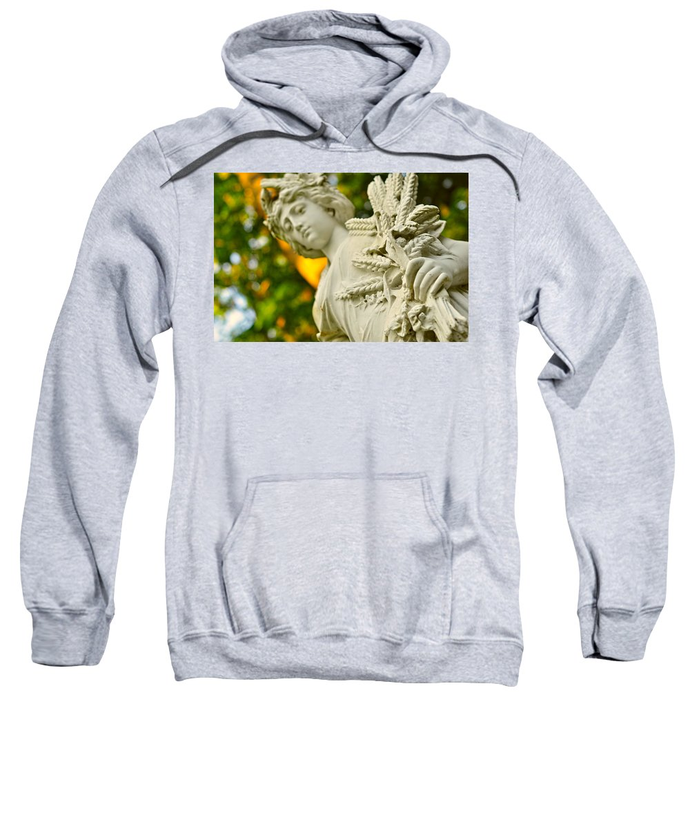 Landscape Sweatshirt featuring the photograph Yaddo Season 3 by Tina Baxter