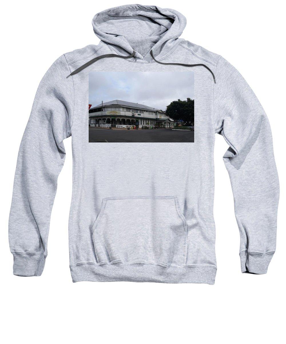 Australia Queensland Qld Sweatshirt featuring the digital art Yungabura Village Scenes by Carol Ailles