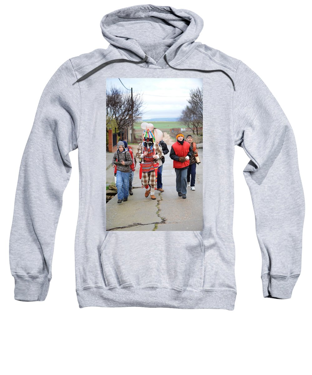 Spain Sweatshirt featuring the photograph Zangarron Mascarade by Rafa Rivas