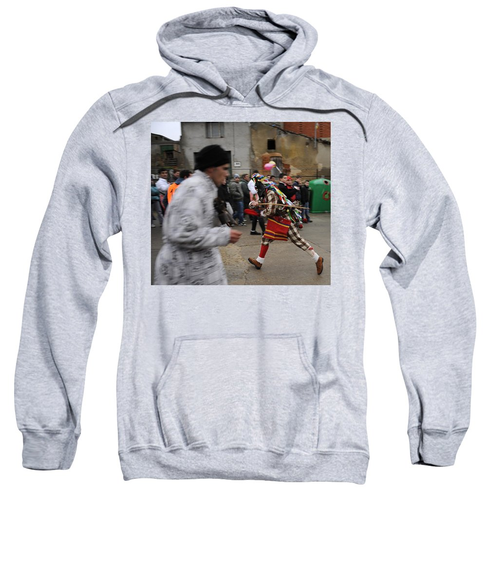 Spain Sweatshirt featuring the photograph Zangarron by Rafa Rivas