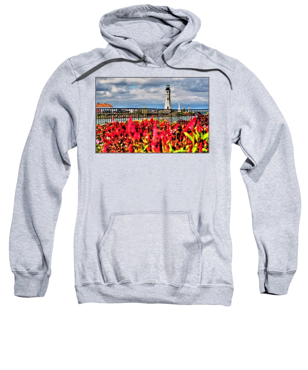Sweatshirt featuring the photograph 005 Summer Sunrise Series by Michael Frank Jr