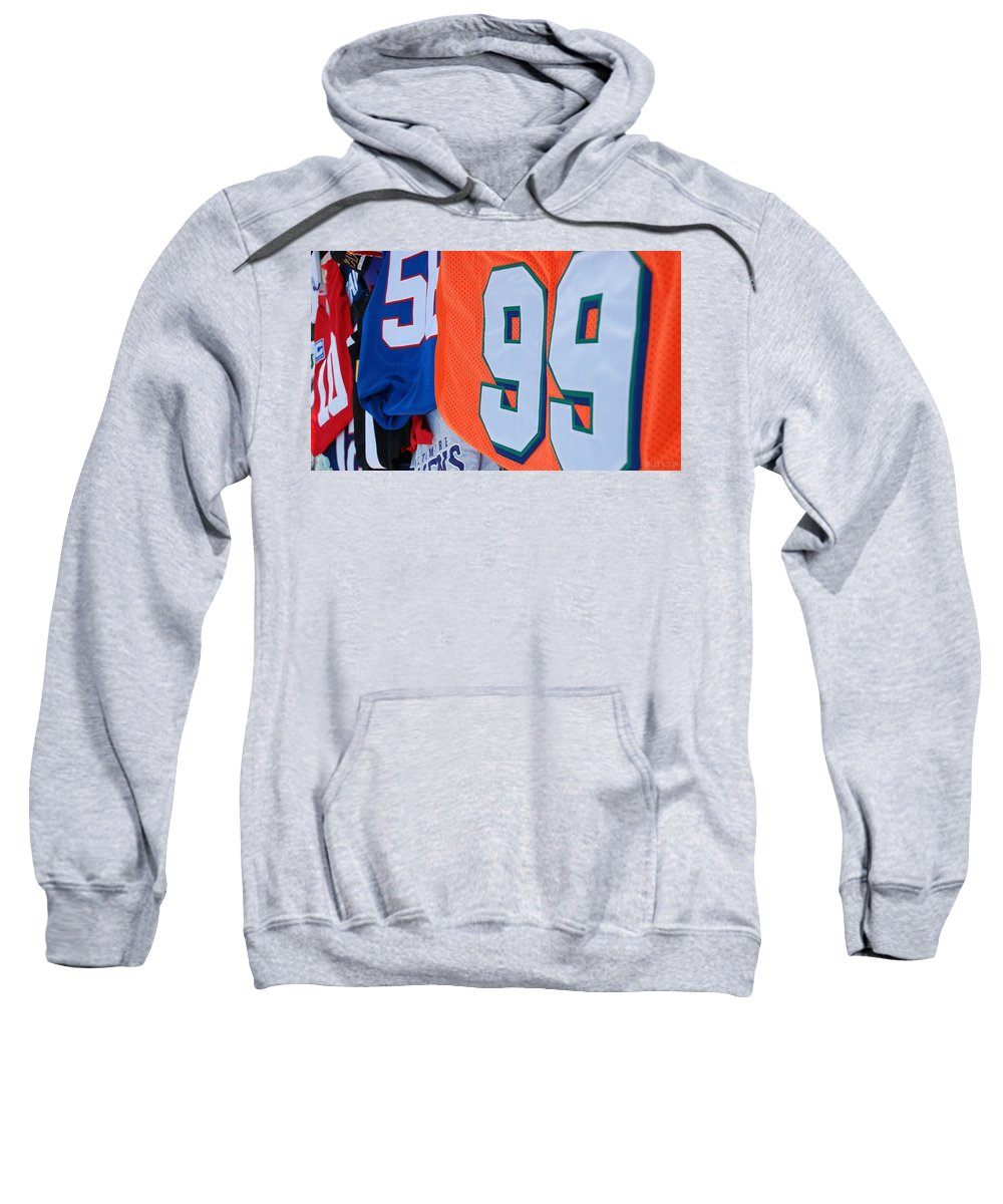 New York Giants Sweatshirt featuring the photograph 10 56 99 by Rob Hans