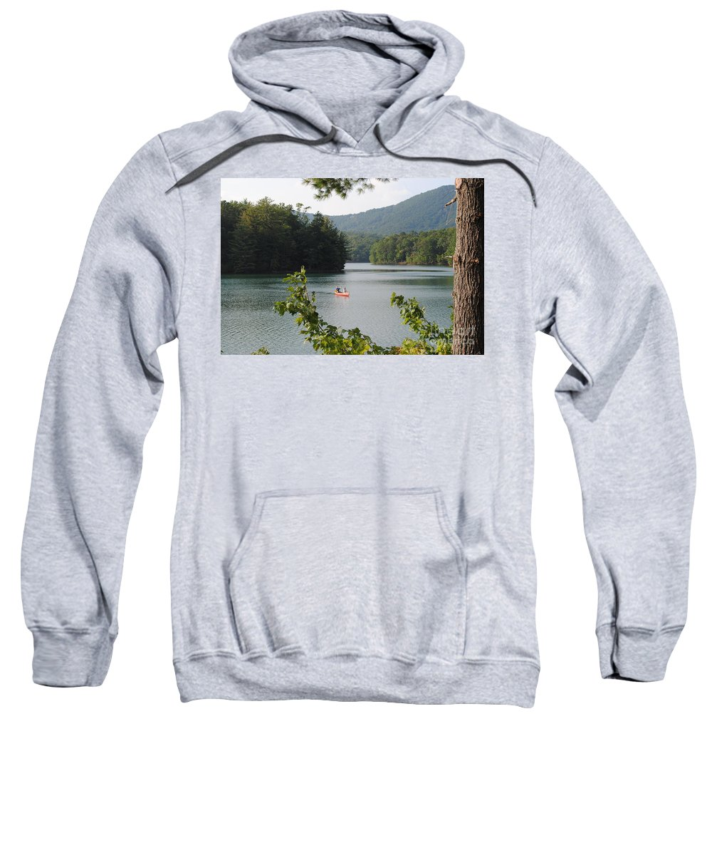 Big Sweatshirt featuring the photograph Big Canoe by Jost Houk