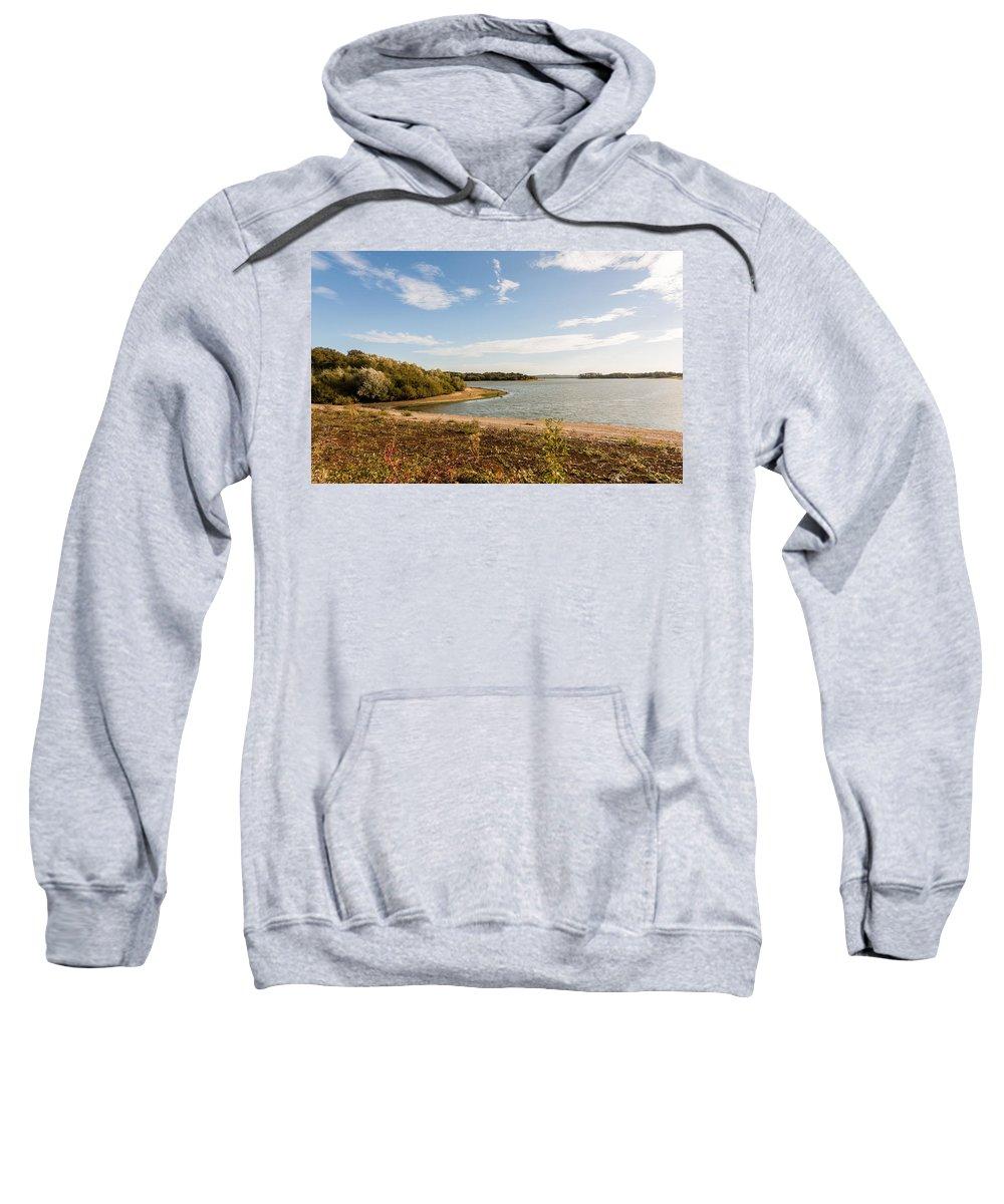 Bough Beech Sweatshirt featuring the photograph Bough Beach by Dawn OConnor
