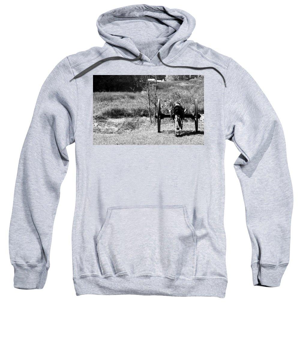 Usa Sweatshirt featuring the photograph Canon Fire by LeeAnn McLaneGoetz McLaneGoetzStudioLLCcom