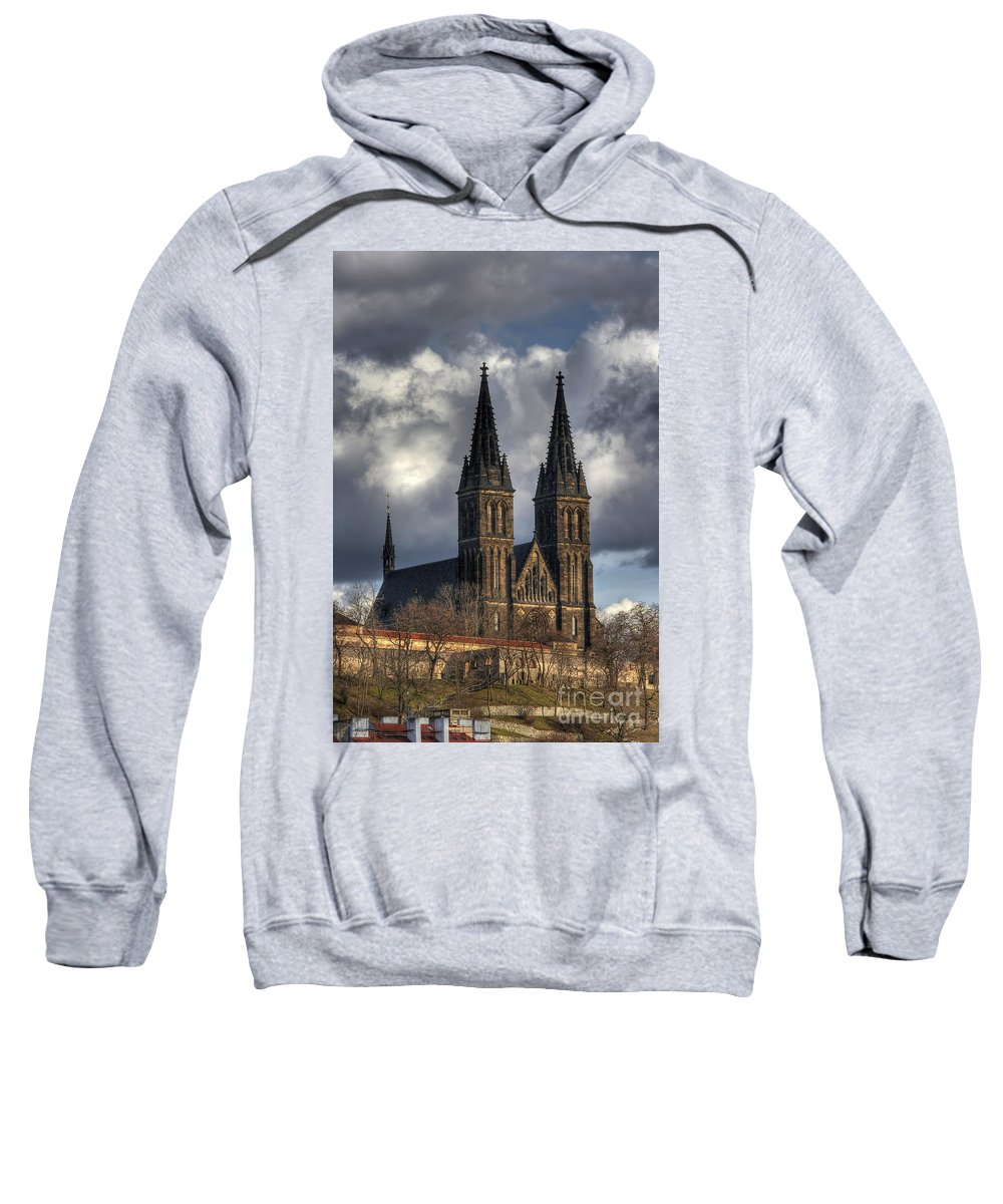 Church Sweatshirt featuring the photograph Chapter Church Of St Peter And Paul by Michal Boubin