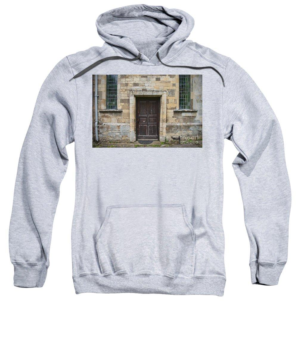 Doors Sweatshirt featuring the photograph Church Doors by David Arment