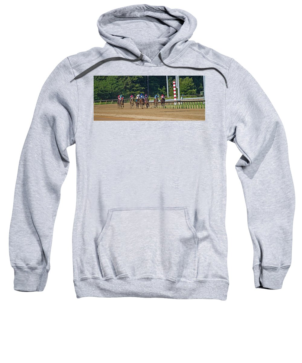 Post Sweatshirt featuring the photograph Coming Home by Betsy Knapp