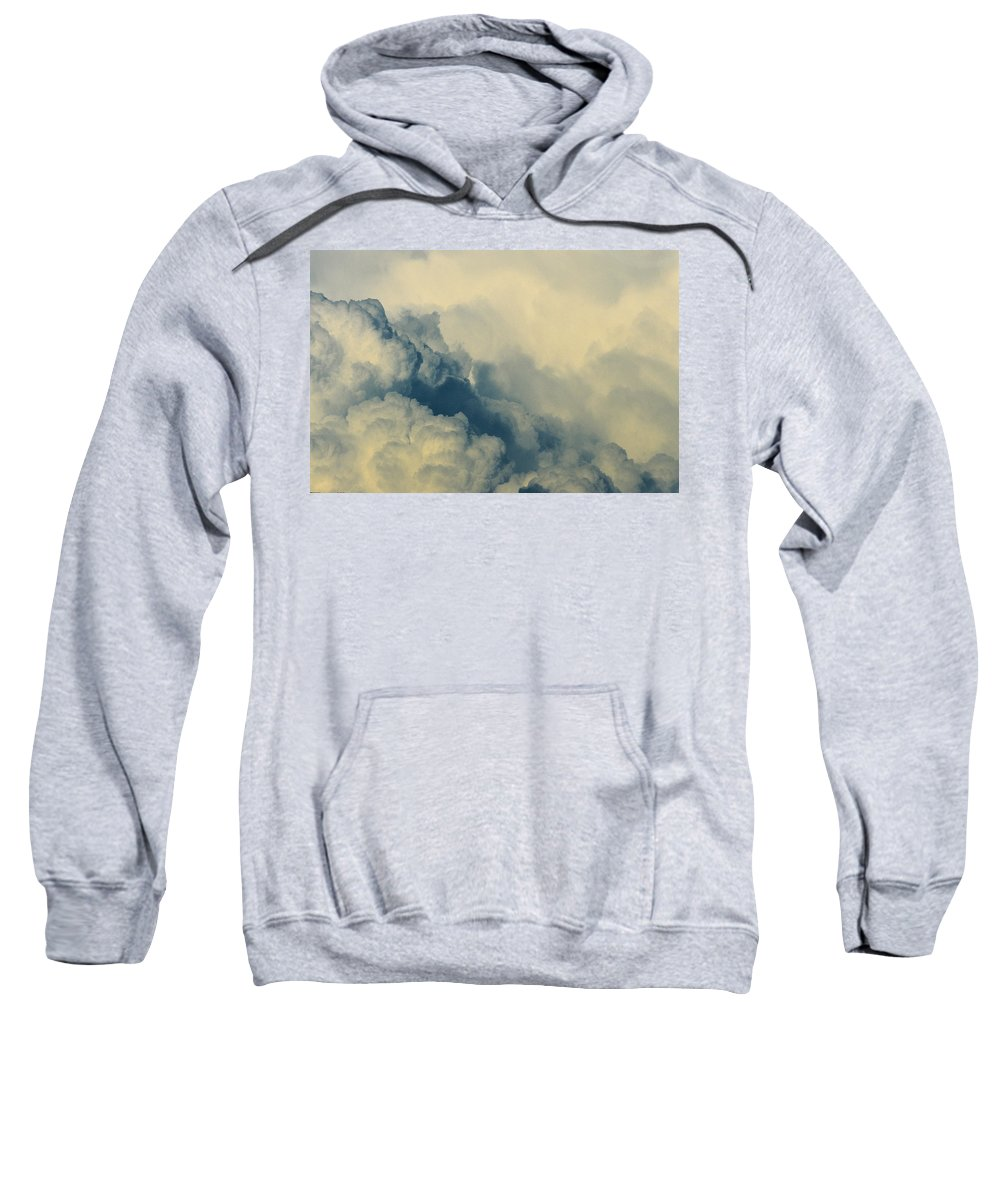 Cumulonimbus Sweatshirt featuring the photograph Cumulonimbus Clouds by One Rude Dawg Orcutt