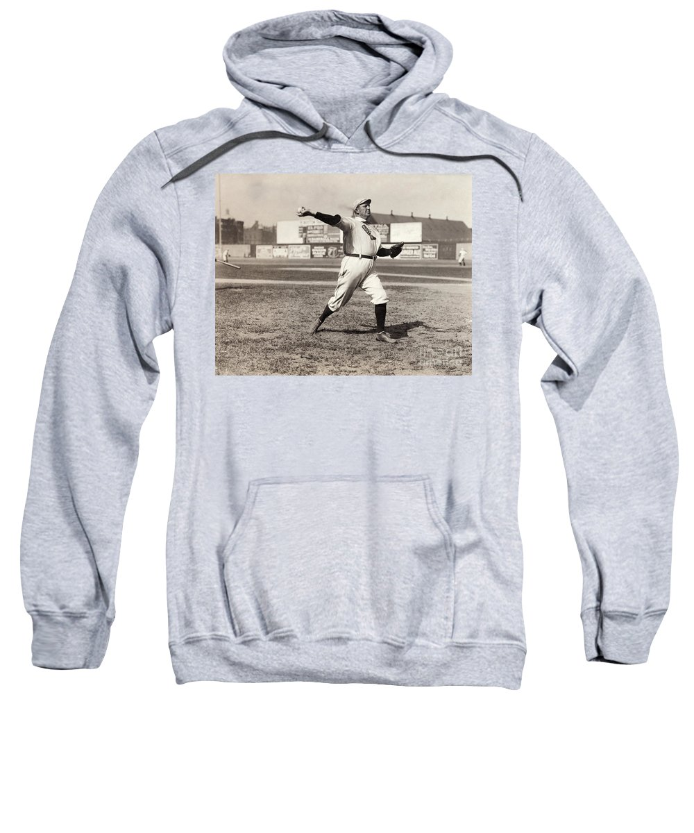 1908 Sweatshirt featuring the photograph Cy Young (1867-1955) by Granger
