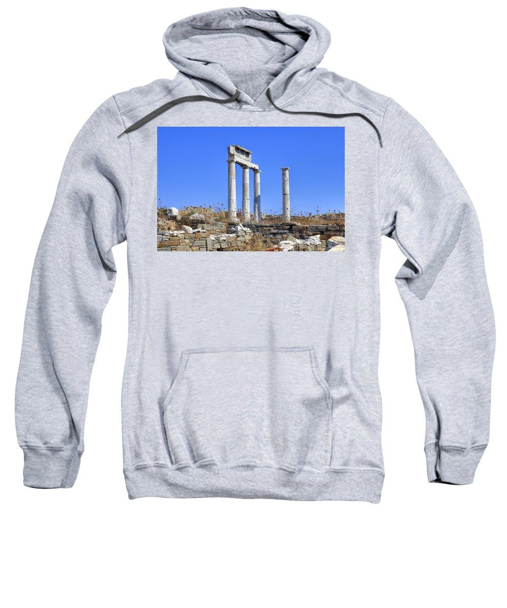 Delos Sweatshirt featuring the photograph Delos by Joana Kruse