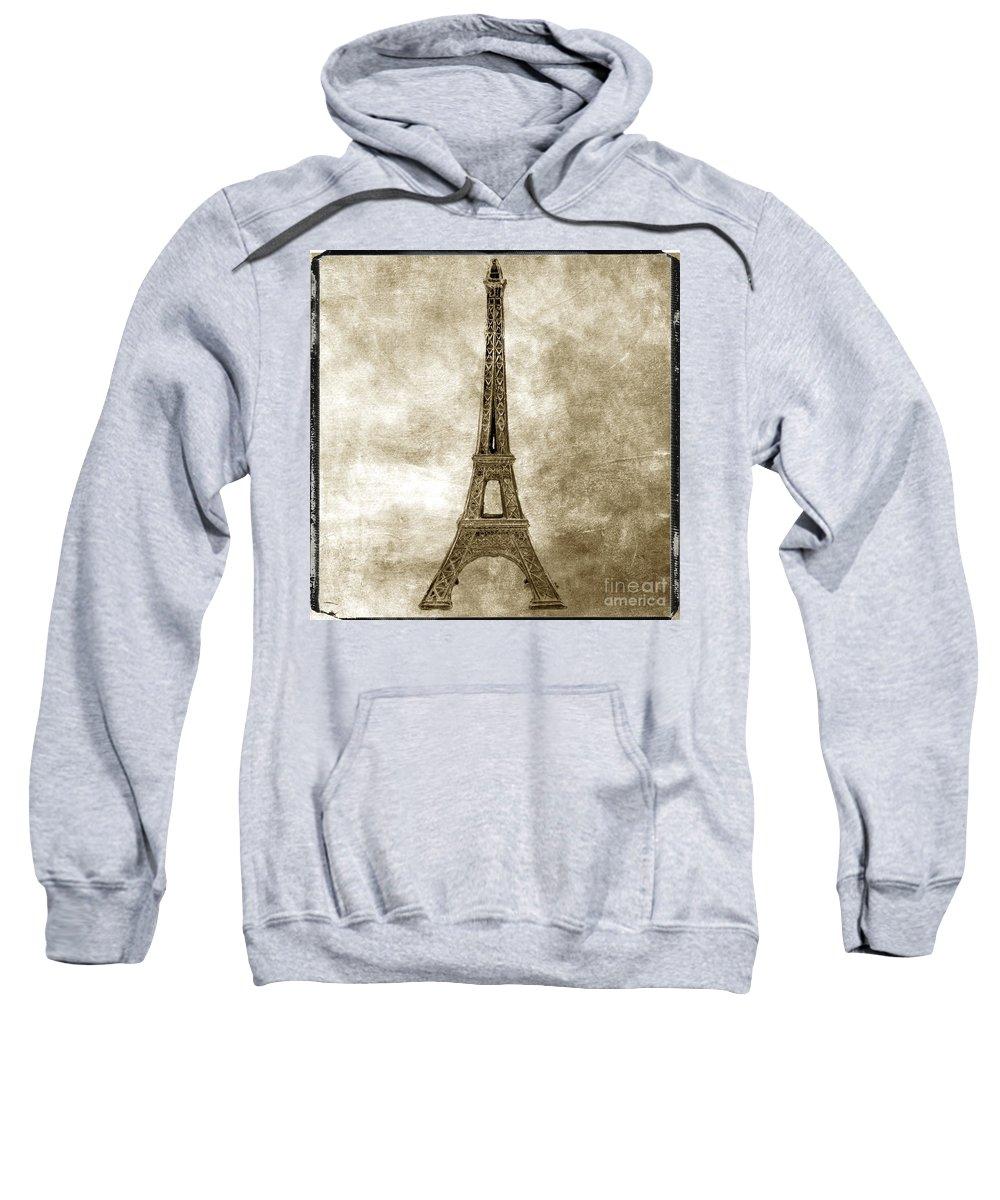 Texture Sweatshirt featuring the photograph Eiffel Tower. Paris by Bernard Jaubert