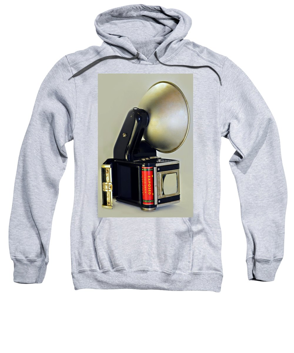 Antique Sweatshirt featuring the photograph Exposed by Susan Leggett