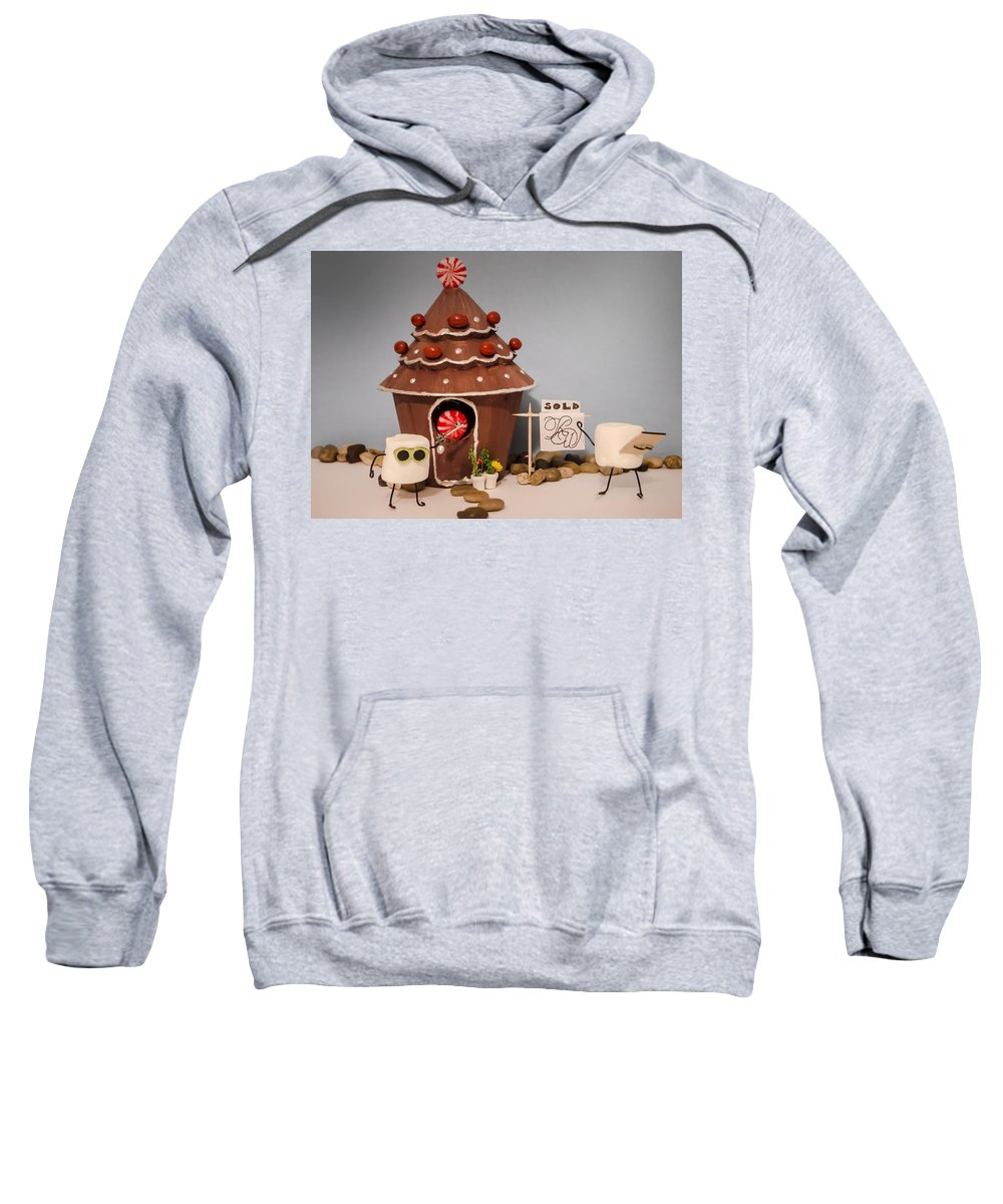 Realtor Sweatshirt featuring the photograph Home Sweet Home by Heather Applegate