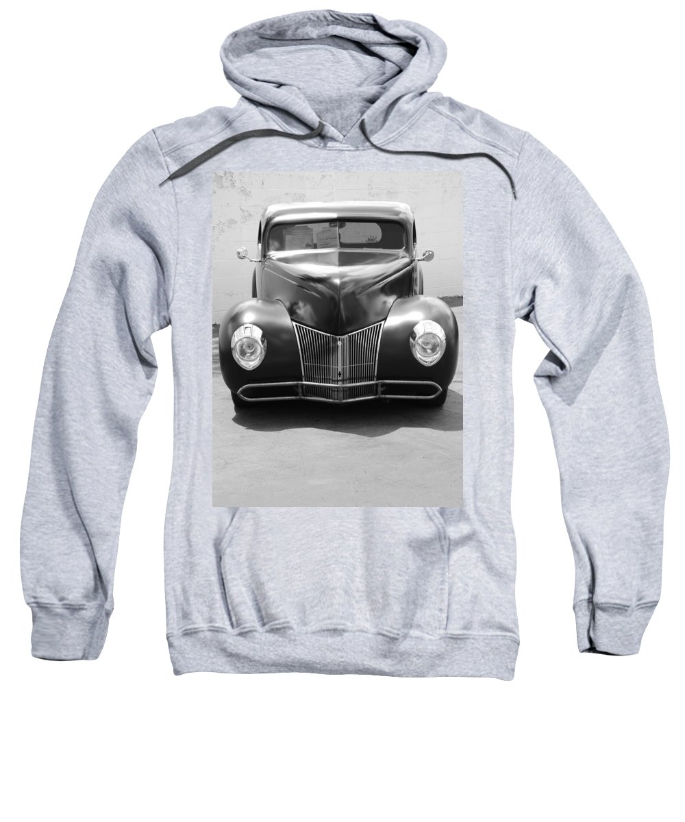 Hot Rod Sweatshirt featuring the photograph Hot Rod Front by Rob Hans